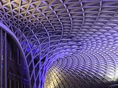Kings Cross Station (lcfcian1) Tags: london kings cross station kingscrossstation roof purple colours railwaystation england uk capital
