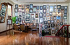 Legendary Cafe Batavia, Jakarta, Indonesia (Maria_Globetrotter) Tags: 2016 fujifilm indonesia mariaglobetrotter dscf5118 cafe jakarta cosy famous historical heritage old town city capital wall frames photos cool design