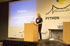 Naomi Ceder (AnnandaSousa) Tags: naomi ceder python speaker pybr12
