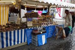 BASEL, SWITZERLAND (posterboy2007) Tags: sausage switzerland swiss basel marktplatz