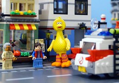 Can You Tell Me How To Get... (Hobbestimus) Tags: lego kubrick sesamestreet bigbird muppets toys 80s tv