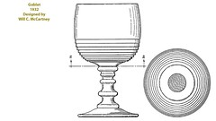 1932 Goblet (Guernsey County Historical Society) Tags: cambridgeglass patent