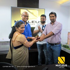 Key to a beautiful beginning ......  We are extremely happy to hand over the key to Mrs. Mariamma Dalip Singh (Lavender villa 01).   May the new home  be filled with joy and cheer.   #Kerala #Kochi #India #House #Architectur (nucleusproperties) Tags: life beautiful house kochi elegant style kerala realestate lifestyle india luxury villa comfort apartment nature architecture interior gorgeous design elegance environment beauty building exquisite view city construction atmosphere home living