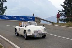 MG A (1959) (PWeigand) Tags: 2015 bayern berchtesgaden edelweissclassic mga1959 oldtimer rosfeldrennen deutschland