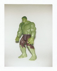 Hulk (Luke Stephenson) Tags: spiderman hulk superhero robber polaroid bigshot flash fun toys