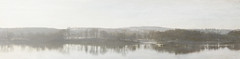 Svendborgsund (Marissen) Tags: svendborgsund dis panorama solopgang tåge sunset haze texture sea reflections tåsinge