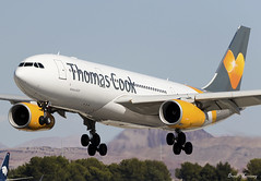 Thomas Cook Airlines A330-200 G-TCXB (birrlad) Tags: lasvegas las mccarran international airport nevada usa aircraft aviation airplane airplanes airline airliner airlines airways approach arrival arriving finals landing runway airbus a330 a332 a330200 a330243 gtcxb mt124 kestrel manchester uk thomas cook