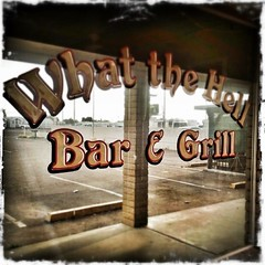 What the Hell Bar & Grill (~ Lone Wadi Archives ~) Tags: mesaarizona whatthehellbargrill hipstamatic iphoneography business bar grill mirror mirrored americansouthwest reflection parkinglot