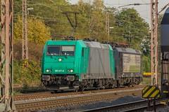 0001_2016_11_01_Wanne_Eickel_Üwf_6185_617_ATLU_und_MRCEdispolok_ES_64_F4_-_287_6189_287_DISPO (ruhrpott.sprinter) Tags: ruhrpott sprinter deutschland germany nrw ruhrgebiet gelsenkirchen lokomotive locomotives eisenbahn railroad zug train rail reisezug passenger güter cargo freight fret diesel ellok dampf wanneeickel üwf atlu dispo mrcedispolok txltxlogistik 185 189 6185 6189 es64f4 outdoor logo natur herbst