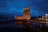 torre de Belém - Lisboa (giuseppesavo) Tags: pentax pp9354 photivo linux ubuntumate gimp gmic k7 sigma816 sunset portogallo portugal lisboa lisbona belém torre tower tramonto fiume river
