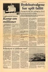 'Bydelsutvalgene har spilt fallitt' - 'Ungdommens bystyre' - 'Folkestyret et jubileum verd?' (1985) (Trondheim byarkiv) Tags: trondheimbyarkiv trondheimkommune trondheim trondhjem sørtrøndelag trøndelag norge norway norwegen noorwegen noruega arkiv archive archives byarkiv kjøpmannsgata dokument document kjøpmannsgata13 avis newspaper nidaros byggesak byggesakskontoret bydelsutvalg ungdommensbystyre auf arbeidernesungdomsfylking ungdomsrådet idrettsrådet fritidsklubb uffa ungdomforfriaktivitet oddeinardørum ovedalsheim willysvarverud oddsagør rådmann borgermester magistrat formannskapsloven 1985 80tallet 80s 1837 eligertemenn deeligertemenn politikk politics lokaltselvstyre lokaldemokrati trondheimbystyre bystyret formannskapet