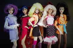 Misfits 2016 (screamboy19) Tags: misfits pizzazz roxy stormer jetta clash integrity toys jem holograms color infusion 80s group designing woman costume indoor