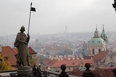 From Prague Castle (Carneddau) Tags: czechrepublic czechia hradany prague praguecastle praha viewofpraha