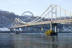 _DSC0228 (Artem_Kotenko) Tags: sony a77 a77v minolta 2485 2485mm kyiv winter autumn sun river bridge park snow cold portrait water walkway