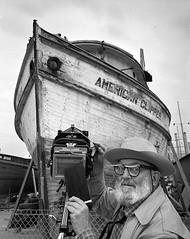 'American Clipper' Ansel Adams (Peer Into The Past) Tags: peerintothepast vintage history americanclipper camera blackandwhite photography anseladams