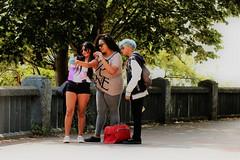 With love from Bilbao (RW-V) Tags: canoneos70d canonef100mmf28lmacroisusm bilbao bilbo baskenland basque españa spain summer été zomer sommer europe europa youth love selfie outdoor friendship amitié freundschaft friends ♡ streetscene 80faves 100faves 120faves