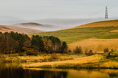 The fog rolling in at Piethorne Reservoir (TrevKerr) Tags: nikon d7000 piethornereservoir fog rochdale lancashire landscape water