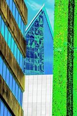 Cruise Ship (PULSE Photography-Kevin Quinn) Tags: atlanta nikon geometric pop sky window buildings buckhead georgia city urban