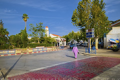 Chefchaouen Round about (T Ξ Ξ J Ξ) Tags: morocco chefchaouen sefasawan d750 nikkor teeje nikon2470mmf28 blue city