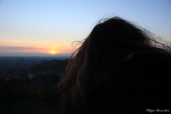Lost in dreams (brizz98) Tags: dream sogno sogni dreams verona sunset tramonto city amore love natura nature hair capelli allaperto nofiltro