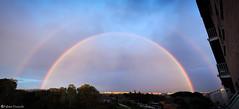 """Rainbow Dome"" (fab's_photos) Tags: rainbow arcobaleno colori colors cielo sky cupola dome nikond4 nikon247028 roma rome italia italy pioggia rain"