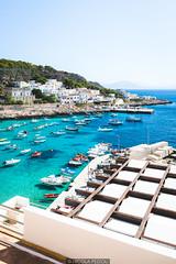 Vivid harbor (Nicola Pezzoli) Tags: levanzo sicilia sicily island egadi summer sea water colors nature canon tourism dock harbor boat village