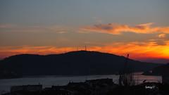 Puesta de Sol, hoy!. (lumog37) Tags: puestadesol sunset coastline costadegalicia costa ra estuary