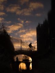 Reflecties (Paul Beentjes) Tags: nederland netherlands heemskerk kasteel castle slot assumburg zonsondergang sunset gouden golden reflecties reflections