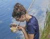 Testing for mosquito larvae (ShiaAron) Tags: park summer portrait sam smith