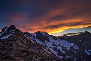 Divide sunset