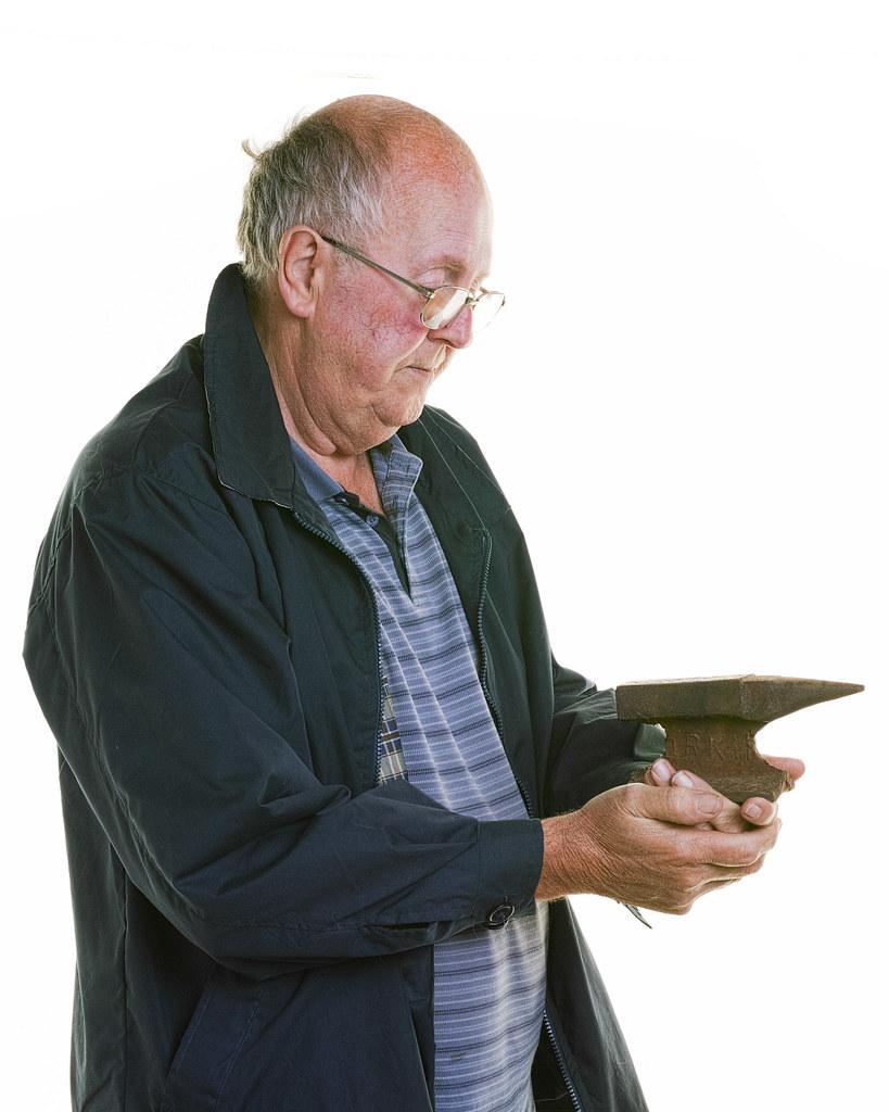 Hugh Miller - anvil/railway line
