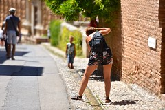 Alhambra, Granada (marcoderksen) Tags: spain andalucia zomer alhambra granada andalusia spanje 2015 andalusi