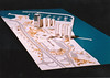 Ataköy Complex - Ataköy Kompleksi (SALTOnline) Tags: architecture model 1980s galleria maket ataköy mimarlık holidayinncrowneplaza hayatitabanlıoğlu ataköymarina 1980ler saltaraştırma saltresearch saltonline
