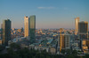 Morgendämmerung in Frankfurt (Mr. Kurzschluss) Tags: city skyline skyscraper deutschland hessen frankfurt main stadt hdr hdri mainhatten metropole rheinhessen hochhäuser rheinmaingebiet