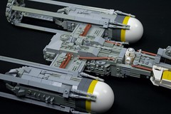 BTL-A4 Y-wing (Version 2) (Brickwright) Tags: starwars lego v2 yavin starfighter ywing