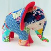 "Charlie the (new) Patchwork Elephant • <a style=""font-size:0.8em;"" href=""http://www.flickr.com/photos/29905958@N04/21193937799/"" target=""_blank"">View on Flickr</a>"