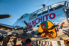 Panchito (Me in ME) Tags: airplane maine brunswick mitchell dav b25 panchito disabledamericanveterans thegreatstateofmaineairshow