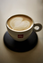Coffee..... (Paul D Hunter) Tags: illy capucino coffecup