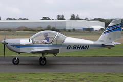 20/09/15 - EV-97 Teameurostar UK - G-SHMI (gbadger1) Tags: uk september ev 97 airfield matters 2015 wellesbourne ev97 mountford egbw teameurostar gshmi