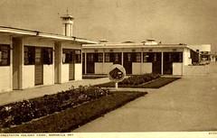 Prestatyn Holiday Camp (trainsandstuff) Tags: vintage postcard retro pontins prestatyn holidaycamp towerbeach