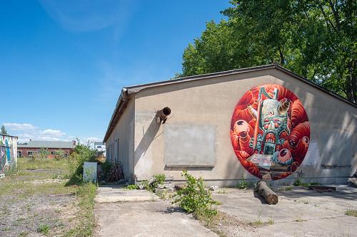 Graffitikunst an der Alten Börse Foto: Ole Bader