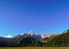 Route Napeloen (zahn-i) Tags: morning schnee autumn mountains alps herbst berge route alpen morgen 2015 napeleon