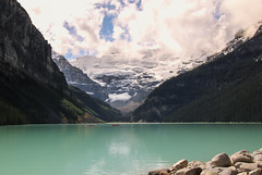 Lake Louise, Canada (Chris Parker2012) Tags: lake canada beauty landscape lakelouise queenvictoria banffnationalpark rockflour canon70d