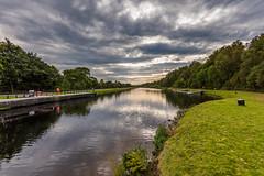 Caledonian Canal at Gairlochy (Nick_Rowland) Tags: water scotland canal highlands gairlochy lochlochy caledoniancanal greatglen