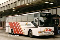 Bus Eireann VC47 (96D51351). (Fred Dean Jnr) Tags: volvo cork caetano buseireann october1998 b10m algarveii vc47 parnellplacebusstation buseireannroute51 96d51351