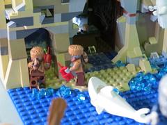 IMG_8032 (LUG Festibriques) Tags: montagne dragon lego exposition fantasy nancy hotdogs caverne fantastique 2015 scoubidou festibriques ludibriques