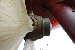Propeller & Rudder (Gunnar Eide) Tags: ocean sea yard dock ship transport maritime shipping propeller tanker rudder tankers odfjell