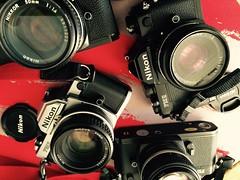Nikon FM2N Collection A (spandexuk1) Tags: nikon 14 fm2 ais fm2n