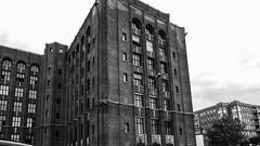 20150725-P1000464 (katharina_amari) Tags: blackandwhite berlin architektur schwarzweiss bauten teufelsberg lostplaces beelitzerheilstätten architekturberlin