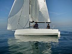 Make a wooden sailing boat! (h2bob) Tags: wood party boat sailing homemade mayo woodenboat plywood varo woodboat homemadeboat woodensailingboat mayo637